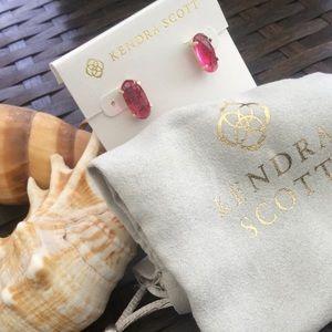NEW✨ Kendra Scott Betty Berry Gold Stud Earrings